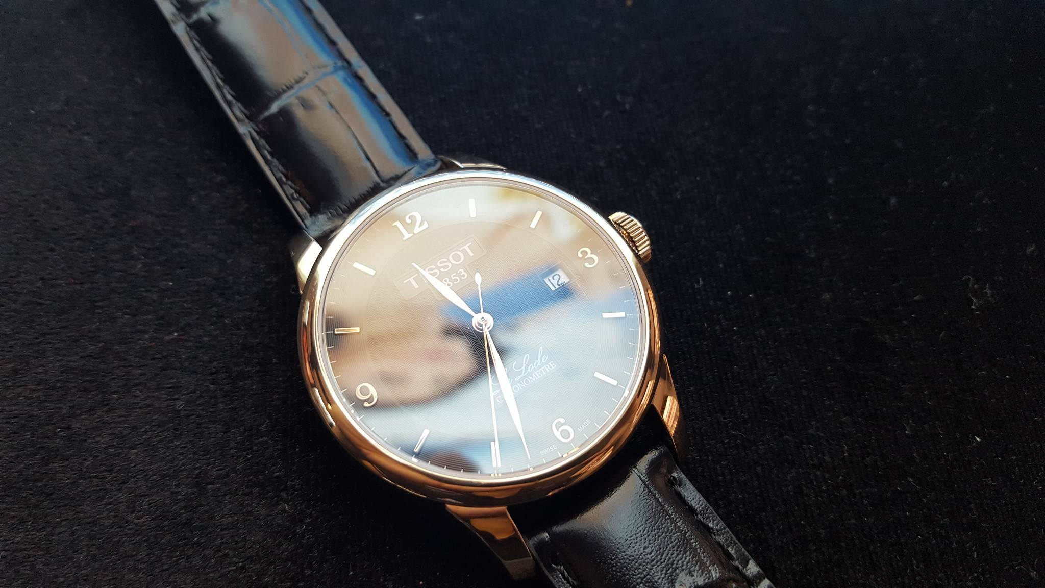 Tissot Le Locle Automatic Rose Gold
